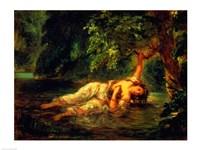 The Death of Ophelia, 1844 Fine Art Print