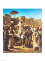 Muley Abd-ar-Rhaman  The Sultan of Morocco Fine Art Print