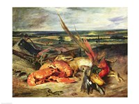 Still Life with Lobsters by Eugene Delacroix - various sizes