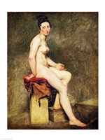 Seated Nude, Mademoiselle Rose by Eugene Delacroix - various sizes