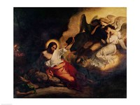 Christ in the Garden of Olives, 1827 Fine Art Print