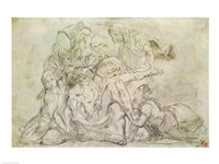Pieta by Eugene Delacroix - various sizes