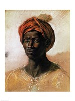 Portrait of a Turk in a Turban, 1826 by Eugene Delacroix, 1826 - various sizes