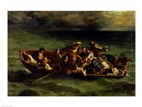 The Shipwreck of Don Juan, 1840 by Eugene Delacroix, 1840 - various sizes, FulcrumGallery.com brand