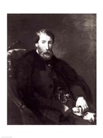 Portrait of Alfred Bruyas by Eugene Delacroix - various sizes, FulcrumGallery.com brand