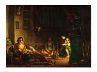 The Women of Algiers in their Harem Fine Art Print