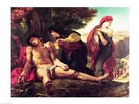 St. Sebastian, 1836 by Eugene Delacroix, 1836 - various sizes