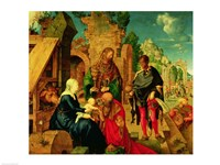 Adoration of the Magi, 1504 Fine Art Print