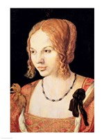Young Venetian Woman by Albrecht Durer - various sizes