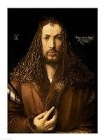 Self Portrait at the Age of Twenty-Eight, 1500 by Albrecht Durer, 1500 - various sizes