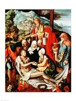 Lamentation for Christ Fine Art Print