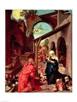 Paumgartner Altarpiece, c.1500 Fine Art Print