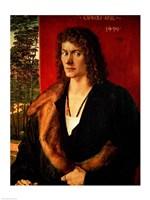 Portrait of Oswolt Krel, 1499 Fine Art Print