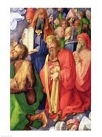 Landauer Altarpiece: King David, Detail, 1511 by Albrecht Durer, 1511 - various sizes