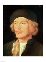 Young Man, 1507 Fine Art Print