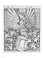 Coat of Arms of the Durer Family by Albrecht Durer - various sizes