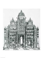 The Triumphal Arch of Emperor Maximilian I of Germany Fine Art Print