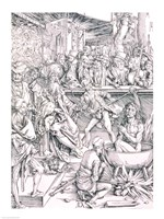 The Torture of St. John the Evangelist by Albrecht Durer - various sizes