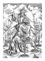 The Vision of The Seven Candlesticks from the 'Apocalypse' by Albrecht Durer - various sizes - $16.49