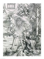 St. John Devouring the Book from the 'Apocalypse' by Albrecht Durer - various sizes - $16.49