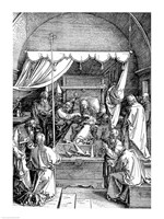 The Death of the Virgin from the 'Life of the Virgin' by Albrecht Durer - various sizes