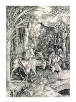 The Flight into Egypt from the 'Life of the Virgin' by Albrecht Durer - various sizes - $16.49