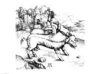 Monstrous Pig Fine Art Print