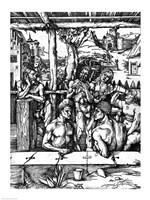 The Men's Bath, 1498 by Albrecht Durer, 1498 - various sizes