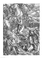 Jesus Christ on the Mount of Olives Fine Art Print