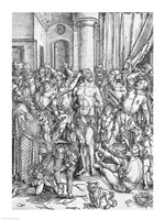 The Flagellation of Jesus Christ by Albrecht Durer - various sizes - $16.49
