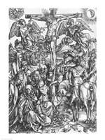 Christ on the cross by Albrecht Durer - various sizes