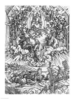 Scene from the Apocalypse, St. John before God the Father and the Twenty-Four Elders by Albrecht Durer - various sizes - $16.49