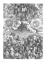 Scene from the Apocalypse, The Opening of the Fifth and Sixth Seals by Albrecht Durer - various sizes - $16.49
