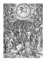 Scene from the Apocalypse, Adoration of the Lamb by Albrecht Durer - various sizes - $16.49