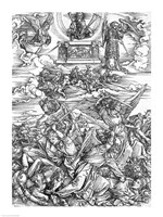 Scene from the Apocalypse, The Four Vengeful Angels by Albrecht Durer - various sizes - $16.49