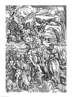 Scene from the Apocalypse, the great Babylonian whore by Albrecht Durer - various sizes - $16.49