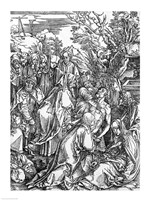 The entombment of Christ, from 'The Great Passion' by Albrecht Durer - various sizes - $16.49