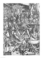 Scene from the Apocalypse, The martyrdom of St. John the Evangelist by Albrecht Durer - various sizes - $16.49