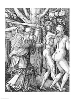 The Expulsion from Paradise, 1510 Fine Art Print
