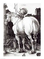 The Large Horse, 1509 Fine Art Print