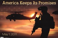 America - Promises Wall Poster