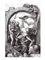 Harrowing of Hell or Christ's descent into Limbo, 1512 by Albrecht Durer, 1512 - various sizes - $16.49