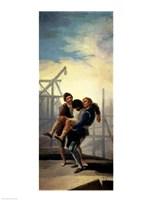 The Injured Mason by Francisco De Goya - various sizes