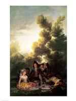 The Picnic by Francisco De Goya - various sizes