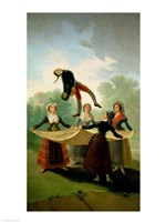 The Puppet by Francisco De Goya - various sizes
