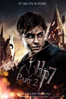 Harry Potter and the Deathly Hallows (part II) Fine Art Print