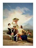The Grape Harvest by Francisco De Goya - various sizes