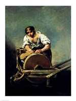 The Knife-Grinder by Francisco De Goya - various sizes, FulcrumGallery.com brand