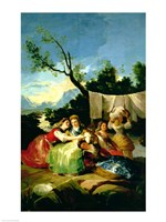 The Washerwomen, before 1780 Fine Art Print