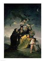The Witches' Sabbath Framed Print